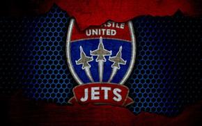 Картинка wallpaper, sport, logo, football, Newcastle Jets
