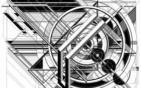 Обои фон, конструкция, форма