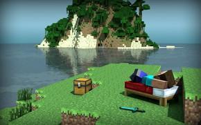 Картинка отдых, игра, minecraft, майнкрафт