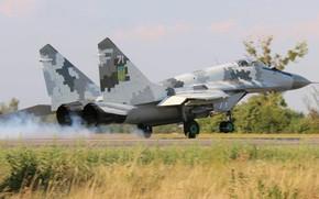 Картинка Истребитель, Украина, Миг-29, ВВС Украины