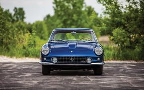 Картинка Ferrari, Blue, Old, Vehicle, Ferrari 400 Superamerica