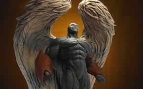 Картинка фон, крылья, ангел, спаун, wings, suit, spawn, angelspawn