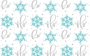 Картинка белый, снежинки, фон, текстура
