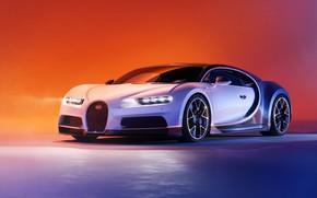Картинка Bugatti, суперкар, гиперкар, Chiron