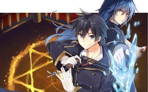 Картинка аниме, арт, персонажи, Rokudenashi Majutsu Koushi to Akashic Records