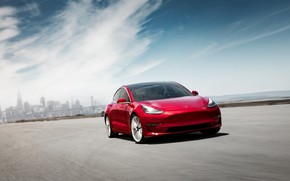 Картинка Tesla, 2018, Model 3