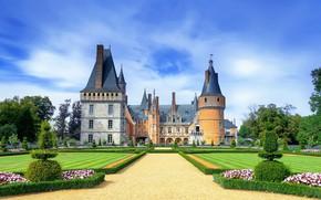 Картинка парк, замок, башни