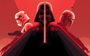 Картинка Star Wars, Шлем, Фон, Darth Vader, Art, Дарт Вейдер, Concept Art, Boba Fett, Штурмовик, Боба …