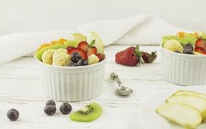Картинка ягоды, фрукты, десерт