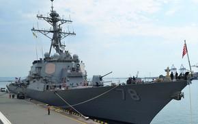 Обои эсминец, porter, ddg-78