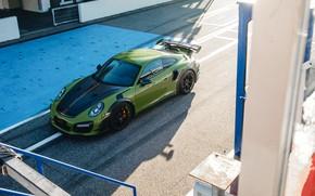 Картинка 911, Porsche, Turbo S, TechArt, 2019, GT Street RS