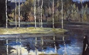 Картинка Весна, 1890-1900-е, Нестеров Михаил Васильевич