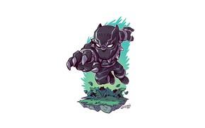 Картинка Marvel, Black Panther, Derek Laufman