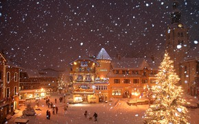 Картинка Франция, France, Межев, Megeve, ski Resort, Горнолыжный Курорт