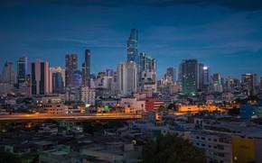 Картинка город, здания, Таиланд, Тайланд, Бангкок, бетонные джунгли