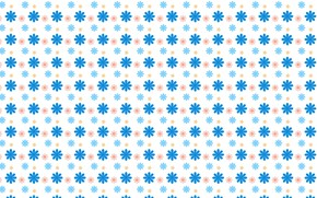 Картинка белый, цветы, фон, текстура, разноцветные