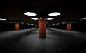 Картинка зал, фон, колонны