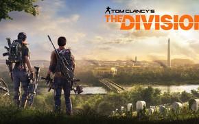 Картинка город, оружие, вашингтон, ubisoft, агенты, Tom Clancy's The Division 2, The Division 2
