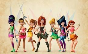 Обои девочки, феи, The Pirate Fairy