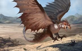 Картинка дракон, Dragon, CREATURE, RJ Palmer