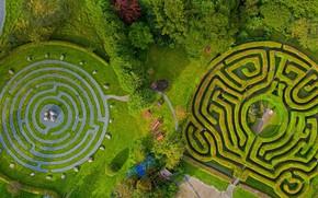 Картинка парк, Ирландия, Уиклоу, Гринан Маз, лабиринт