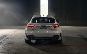 Картинка Maserati, вид сзади, кроссовер, Rosso, Novitec, 2020, Q4, GranSport, Levante S, Esteso V2