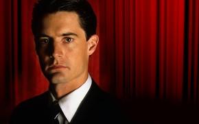 Картинка Twin Peaks, Твин Пикс, Black Lodge, Чёрный Вигвам, Красная комната, Red Room, Agent Dale Cooper, …