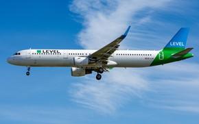 Картинка Airbus, OE-LCN Level, A321-200S
