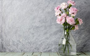 Картинка цветы, vintage, flowers, romantic, pink, лепестки, wood, розовые, beautiful