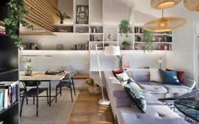 Картинка интерьер, гостиная, столовая, Egue-y-Seta, by Daniel Pérez, private house, For You Alone