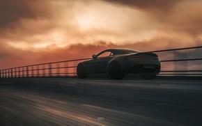 Картинка Aston Martin, Авто, Машина, Рендеринг, Aston Martin Vantage, DRIVECLUB, Game Art, Environments, Transport & Vehicles, …