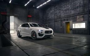 Картинка Maserati, кроссовер, Rosso, Novitec, 2020, Q4, GranSport, Levante S, Esteso V2