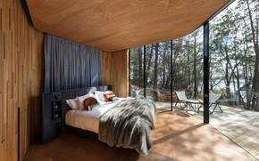 Картинка интерьер, спальня, Coastal Pavilion