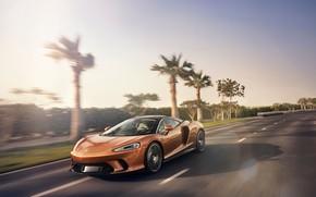 Картинка McLaren, скорость, суперкар, 2019, McLaren GT