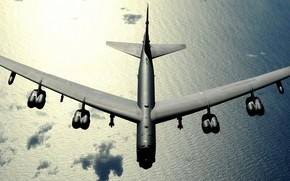 Картинка Boeing, бомбардировщик, B-52, Stratofortress