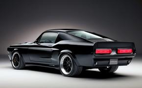 Картинка Mustang, Ford, 1967, электромобиль, 2019, Charge Cars