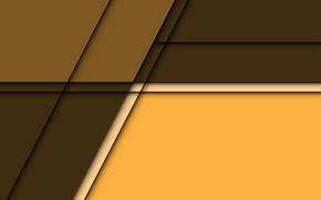 Картинка линии, желтый, фон, коричневый, background