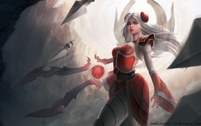 Картинка девушка, фэнтези, League Of Legends