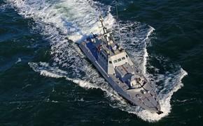 Картинка Море, Волны, Корабли, Украина, Флот, Гюрза-М, ВМСУ, ВМС Украины