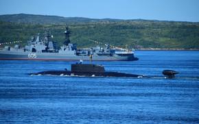 Картинка лодка, подводная, атомная, псков