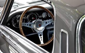 Картинка Руль, Приборная панель, Jaguar E-Type