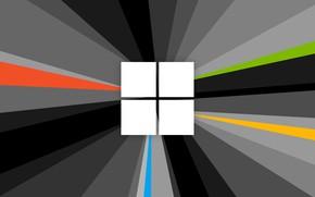 Картинка Microsoft, windows, Radiant