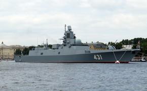 Картинка фрегат, санкт петербург, адмирал касатонов