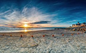 Картинка Sunset, Ireland, County Donegal, Rossnowlagh