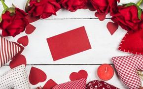 Картинка любовь, цветы, сердце, розы, рамка, red, love, romantic, hearts, valentine's day, gift, roses, frame