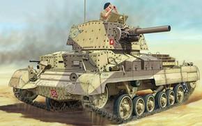 Картинка Tank Cruiser Mk.I, Крейсерский танк Mk.I, Виккерс, британский крейсерский танк 1930-х годов