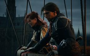 Картинка game, france, assassin's creed, unity, arno dorian, assassins creed unity