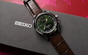 Картинка макро, стиль, часы, коробочка, Seiko, Seiko Alpinist