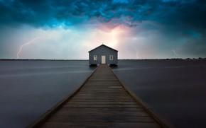 Картинка storm, lightning, australia, Crawley Bolt
