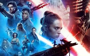 Картинка Star Wars, Звёздные войны, постер, The Rise of Skywalker, Эпизод IX